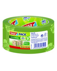 Tape Eco groen 50 mm breed 66 m