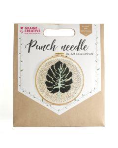 Punchneedle set blad