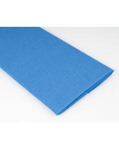 Crêpepapier 250 x 50 cm blauw