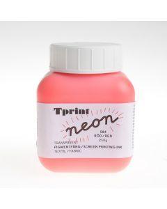 Zeefdrukinkt voor textiel 250 g fluorood