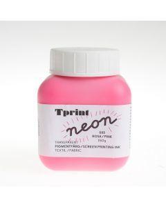 Zeefdrukinkt voor textiel 250 g fluoroze