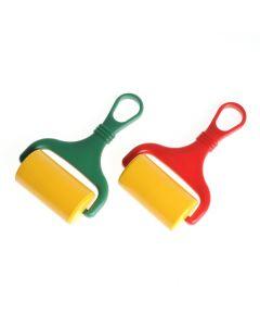 Boetseerrol met handvat 6,5 cm voor plasticine