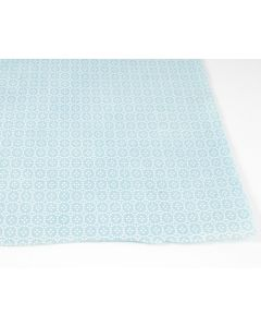 Lokta bedrukt Hiraniwa 50 x 75 cm lichtblauw