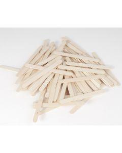 Knutselhoutjes/friscostokjes 72 stuks naturel