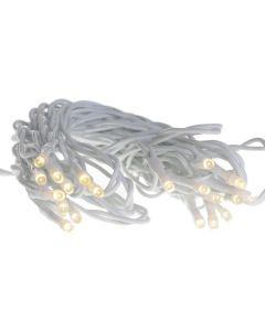 Lampenslinger binnen 20 leds wit 7,75 m