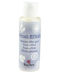Frost-effectverf 50 ml wit