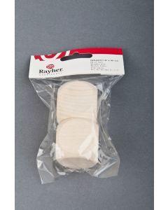 Dobbelsteen blank hout 40 mm 2 stuks