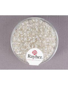 Glasparel 2,6 mm 17 g zilver met zilverkern