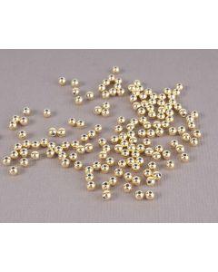Parel 3 mm 125 stuks goud