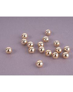 Parel 8 mm 15 stuks goud