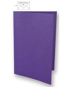 Kaart A6, 210 x 148 mm 220 g 5 stuks violet