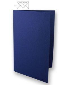 Kaart A6, 210 x 148 mm 220 g 5 stuks nachtblauw