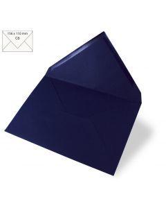 Omslag A6, 156 x 110 mm 90 g 5 stuks nachtblauw