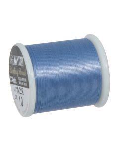 Rijgdraad voor delica 0,27 mm 50 m aquamarijnblauw
