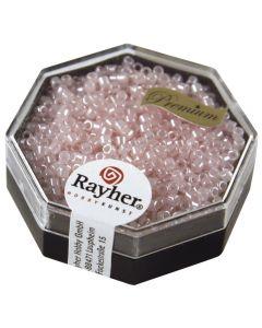 Glasparel Delica 2,2 mm 9 g parelglans poederroze