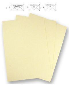 Papier A4 220 g 5 stuks beige