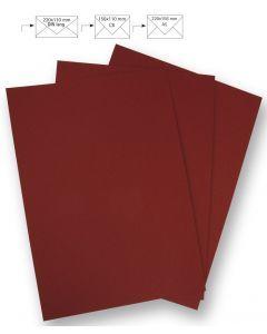Papier A4 220 g 5 stuks bordeaux