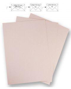 Papier A4 220 g 5 stuks babyroze