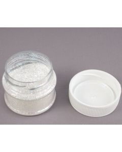 Sandy Art glitter 25 g wit