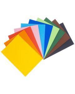Knutselpapier A4, 120 g 100 vel 10 kleuren