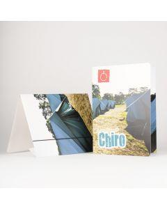 Elastomap A4 met 3 kleppen ecologisch Chiro