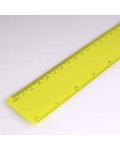 Flexibele lat van gerecycled polypropyleen 30 cm - l.groen