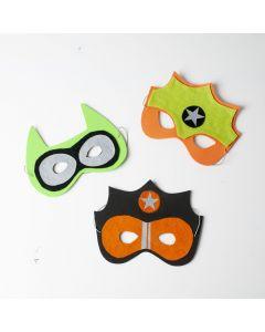 Creapakket Fluo Heldenmaskers