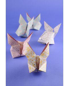 Creapakket Origami konijntjes