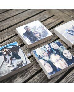 DIY-workshopdoos: Foto's op hout