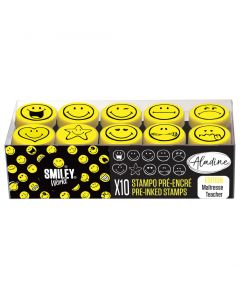 Stampo Easy 10 stuks smiley