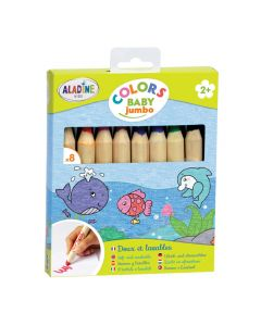 Kleurpotloden Baby 8 stuks
