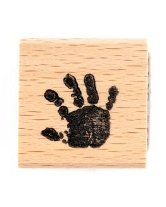 Stempel mini handje rechts