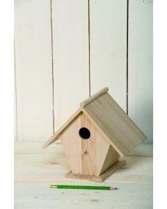 Houten vogelhuis 22 cm