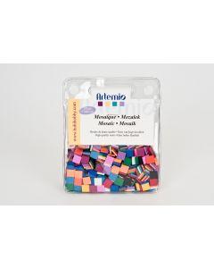 Mozaïek mat 10 x 10 mm 225 g primaire tinten
