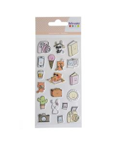 Puffy stickers So Cute Holidays