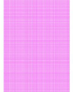 Stof katoen 45 x 55 cm Alice roze raster