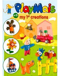 Playmaïs boekje nr 5 My 1st Creations