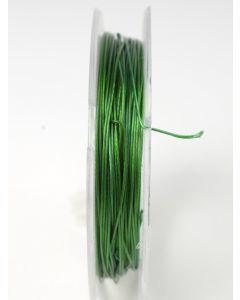 Nyloncoated draad 10 m groen