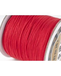 Polyester koord 100 m rood