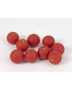 Glasparel rood rond 12 mm 20 g M