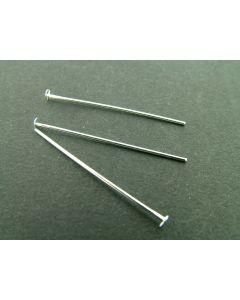 Kettelstift T-pen 30 mm zilver glanz. 5 g