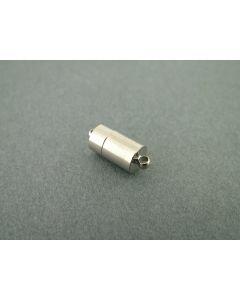 Magneetslot 18 mm 1 stuk rhodium