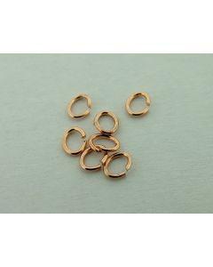 O-ring ovaal 4 x 5 mm 5 g rosé