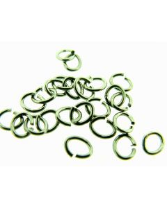 O-ring ovaal 4 x 5 mm 5 g antraciet