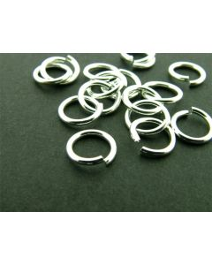 O-ring 7 x 1 mm 5 g zilver glanzend