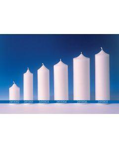 Kaarsvorm cilinder 6 x 20 cm