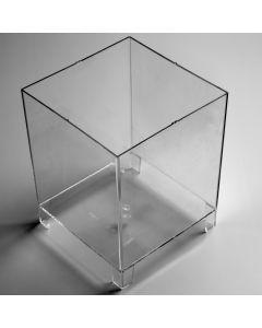 Kaarsvorm lantaarn vierkant 12,5 x 12,5 cm