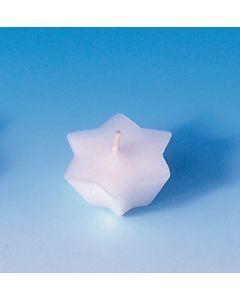 Drijfkaarsvorm 6 stuks ster