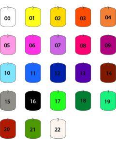 Kaarskleurstof aniline 10 g voor 5 kg terracotta