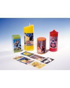 Foto-transferpapier voor kaarsen 1 stuk